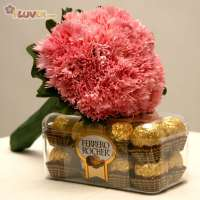 Ferrero Rocher and Carnations