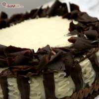 Rich Chocolate Rum Cake