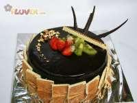 Trio Chocolate Mousse Cake