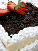 Baked Berry Cheese Cake